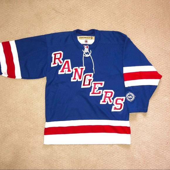 the latest ea268 83fe7 New York Rangers Official KOHO NHL Jersey